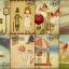 ตัวปั๊ม+card ชุดทูนหัวของบ่าว Inseparable Illustration Style Postcards thumbnail 5