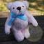 ตุ๊กตาหมีผ้าขนสีชมพูขนาด 12 cm. - Bess thumbnail 1