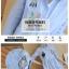 เดรสแฟชั่นเกาหลี เสื้อคอปก สไตล์เก๋ๆมาแล้วคะ เนื้อผ้าใส่สบายโทนสีฟ้าลายทาง ด้านหน้าปักลายการ์ตูนน่ารักๆ แขน พับได้ ทรง 3 ส่วน thumbnail 13