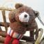 หมีเท็ดดี้ห้อยโทรศัพท์ สินค้านำเข้าจากญี่ปุ่น thumbnail 2