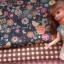 ผ้าจัดเซตผ้า cotton หาในไทยขนาด 1/8 หลา 1ชิ้น + ผ้าลายตารางหาในไทย 1 ชิ้น ขนาด1/8 m thumbnail 1