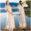 เดรสยาวผ้าลูกไม้สีขาวสไตล์วินเทจโบฮีเมียน thumbnail 2