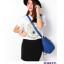 กระเป๋า AXIXIสีครีม ชมพู น้ำเงิน thumbnail 9