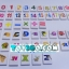 กล่องกระดานไวท์บอร์ดพร้อมตัวอักษร/ตัวเลขแบบแม่เหล็กและแบบโดมิโน thumbnail 4