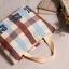 พร้อมส่งค่ะ Cher shore fabric tote original package เท่ๆน่ารักแบบเรียบง่ายค่ะ thumbnail 12