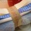 เซตผ้าขนDGสำหรับเย็บตุ๊กตาหมี - โทนสีฟ้า thumbnail 1