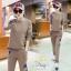 ชุดเซท 2 ชิ้น เสื้อแขนยาว++กางเกงขายาว ปักที่เสื้อและกางเกง thumbnail 4