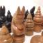 ชุดกระดานหมากรุกไทยไม้ก้ามปูพกพาพร้อมตัวหมากชุดใหญ่ (ขนาด38.5x42 cm) thumbnail 18