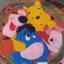 ลาย Mickey Mouse 3 รุ่นไม่มีพนักพิง โต๊ะ ขนาด 18*20 นิ้ว จำนวน 1 ตัว เก้าอี้ ขนาด 10*10 นิ้ว จำนวน 4 ตัว ผลิตจากไม้จามจุรีแท้ ไม่ใช่ไม้อัด รับน้ำหนักได้ถึง 70 กก. thumbnail 3