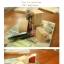 ชุดตัวปั๊ม floral wooden stamp set ตัวด้ามไม้พร้อม หมึก twin color thumbnail 2