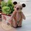 ตุ๊กตาหมีผ้าสักกะหลาดขนาด 7.5 cm. - BeanBear Cutwork thumbnail 1
