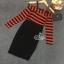 Dress เปิดไหล่แขนยาว ดีเทลเปิดไหล่มีซิปอยู่ด้านหลัง thumbnail 6