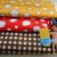 ผ้าจัดเซตผ้า cotton สั่งจากUSA ขนาด 1/8 หลา 2 ชิ้น + cotton ลายตารางในไทย ขนาด1/4 m thumbnail 1