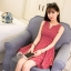 [Preorder] เดรสแฟชั่นแขนกุดลายจุดสีแดง (ไซส์ S M L XL) 2016 small fresh summer dress Korean version of Slim was thin tutu sweet fashion wave point sleeveless vest dress tide thumbnail 1