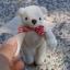 ตุ๊กตาหมีผ้าขนหนูสีครีมขนาด 10 cm. - Muffin thumbnail 3
