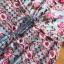 Maxi Dress เดรสยาวผ้าเครปสีฟ้าพิมพ์ลาย thumbnail 7