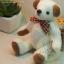 ตุ๊กตาหมีผ้าขน white ขนาด 14 cm. - Herbie thumbnail 1