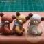 ตุ๊กตาหมีขนสั้นสีน้ำตาลขนาด 8 cm. - Teeny-Weeny thumbnail 3
