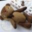 ตุ๊กตาหมีผ้าขนสีน้ำตาลขนาด 22 cm. - BandBand thumbnail 3