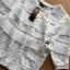 เสื้อจัมเปอร์ผ้าลูกไม้สีขาวตกแต่งผ้าพลีตเลเยอร์ thumbnail 10