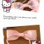 (สินค้าแลกซื้อในราคา 20 บาท) so cute โบว์ที่รัดผม Sanrio thumbnail 6
