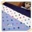 JUNE58.Pack29 : ผ้าจัดเซต 3 ชิ้น ผ้ายีนส์ขนาด 50 X55 cm + ผ้าคอตตอนลายจุดจากตลาดไทย ขนาด แต่ละชิ้น 27 X50 cm thumbnail 1