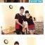 ชุดคู่รัก สีดำแดง เสื้อคอกลม thumbnail 5