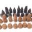 ชุดกระดานหมากรุกไทยไม้ก้ามปูพกพาพร้อมตัวหมากชุดใหญ่ (ขนาด38.5x42 cm) thumbnail 16