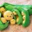 ตุ๊กตาถั่วลันเตา ไซด์จัมโบ้ เมล็ดสีเหลือง thumbnail 7