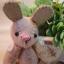 ตุ๊กตากระต่าย ขนาด 7.5 cm. BeanBunny Cutwork thumbnail 4