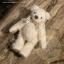 ตุ๊กตาหมีผ้าขนสีครีมขนาด 13 cm. - Cracker thumbnail 3