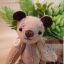 ตุ๊กตาหมีผ้าสักกะหลาดขนาด 7.5 cm. - BeanBear Cutwork thumbnail 5