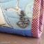 กระเป๋าสตางค์พับงานควิลท์+กระเป๋าปิ๊กแป๊ก seascape thumbnail 2