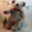 ตุ๊กตาหมีผ้าขนแกะขนาด 23 cm. - Banoffee thumbnail 3