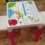 สีฟ้า นัInter Steel ชุดโต๊ะและเก้าอี้ เตรียมอนุบาล โต๊ะ ก-ฮ 1 ตัว + เก้าอี้ 2 ตัว ชุดโต๊ะเขียนหนังสือ/ทำกิจกรรมเด็ก ผลิตจากพลาสติกเนื้อดี แข็งแรง สามารถประกอบได้ง่าย ■ เหมาะกับการวางไว้ตามมุมต่างๆ ทั้งในบ้านและนอกบ้าน thumbnail 4