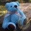 ตุ๊กตาหมีผ้าขนสีฟ้าขนาด 12 cm. - Bess thumbnail 4
