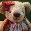 ตุ๊กตาหมีผ้าขนแกะสีน้ำตาลทองขนาด 23 cm. - Sue thumbnail 3