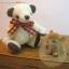 ตุ๊กตาหมีพวงกุญแจผ้าขนนิ่ม ขนาด 9 cm. - PUFF thumbnail 3