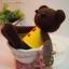 ตุ๊กตาหมีถักขนาด 18 cm. - PiPo (dark brown) thumbnail 3