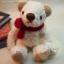 ตุ๊กตาหมีผ้าขนสีขาวขนาด 12 cm. - Bess thumbnail 1