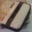 กระเป๋าสตางค์ใบยาวงานควิลท์-ผ้าคอตตอนลินินโทนเทา thumbnail 2