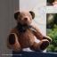 ตุ๊กตาหมีผ้าขนแกะสีน้ำตาลทองขนาด 20 cm. - Lilac thumbnail 4