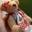 ตุ๊กตาหมีผ้าขนแกะสีน้ำตาลทองขนาด 23 cm. - Sue thumbnail 5