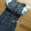 เดรสผ้าลูกไม้ลายดอกแขนระบาย thumbnail 6