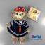 น่ารักมากๆ พวงกุญแจตุ๊กตา The duffy bear by Tokyo Disney Sea thumbnail 2