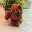 ตุ๊กตาหมีผ้าขนสีน้ำตาลแดง ขนาด 8 cm. - Getty thumbnail 2