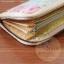 กระเป๋าสตางค์ใบยาวงานควิลท์-ผ้าคอตตอนลินิน thumbnail 4