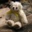 ตุ๊กตาหมีผ้าขนสีครีมขนาด 10 cm. - Muffin thumbnail 4