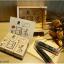 ชุดตัวปั้มกล่องไม้ ตัวปั๊ม Combination + Inkpad thumbnail 2