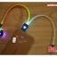 สายชาร์จ 3 หัว มีไฟเปลี่ยนสีได้ 7 สี thumbnail 4